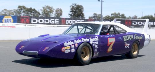 ... National Stock Cars - Mark & Linda Mountanos's 1969 Dodge Charger #7